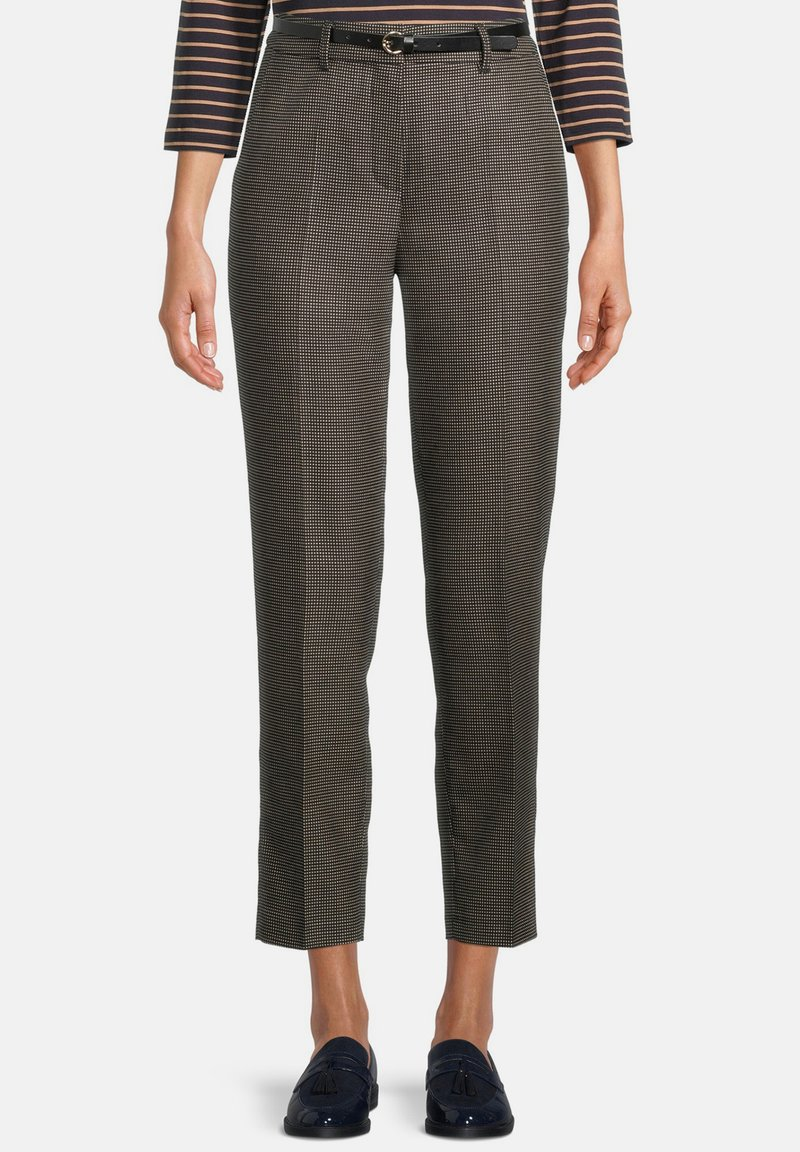 Betty Barclay - Trousers - schwarz beige