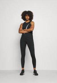 Nike Performance - TANK ICON CLASH - Top - black/white - 1