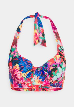 HEATWAVE HALTER UNDERWIRED - Bikini top - multi