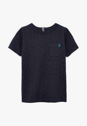 MIT WASCHEFFEKT - Basic T-shirt - blue