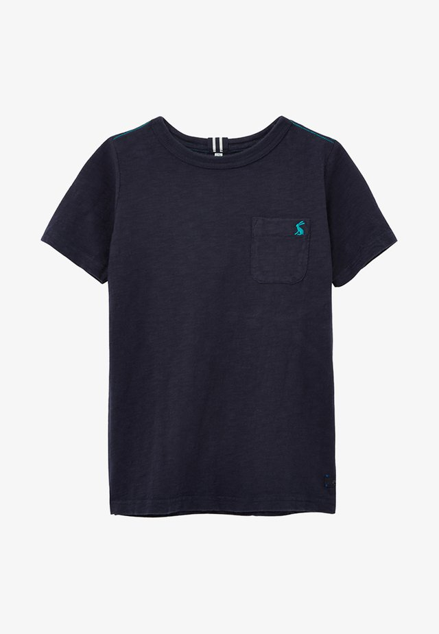 MIT WASCHEFFEKT - Camiseta básica - blue