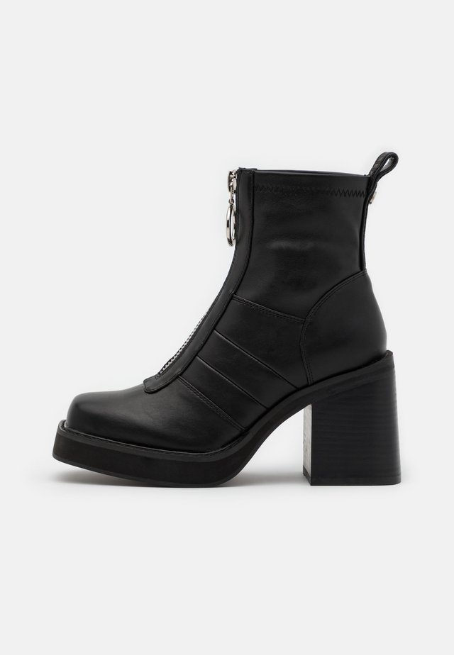QUORRA - High heeled ankle boots - black