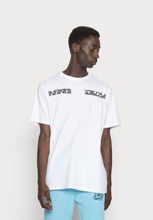 RISING - T-shirt print - white