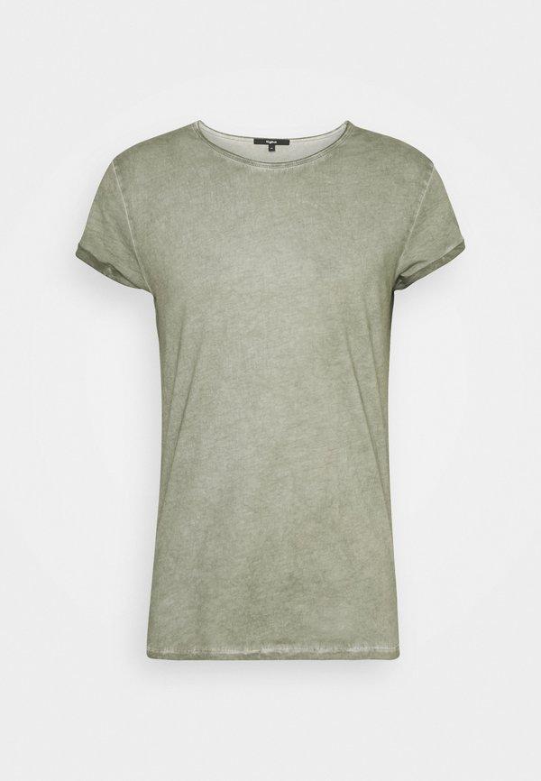 Tigha MILO - T-shirt z nadrukiem - vintage pepper mint/miętowy Odzież Męska ITYD