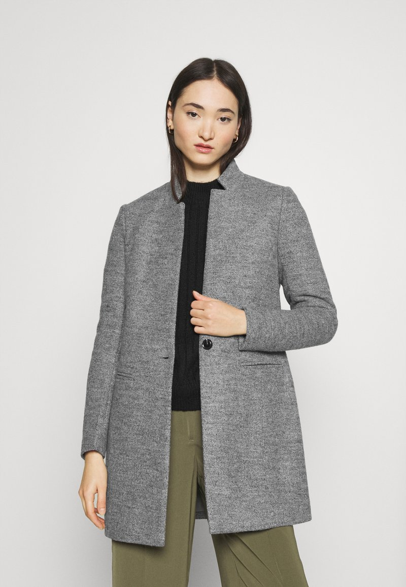 ONLY - ONLSOHA ADALINE COATIGAN  - Classic coat - medium grey melange