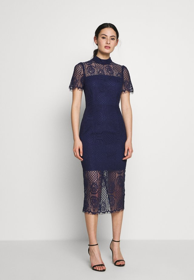 MAKING THE CONNECTION DRESS - Cocktail dress / Party dress - navy