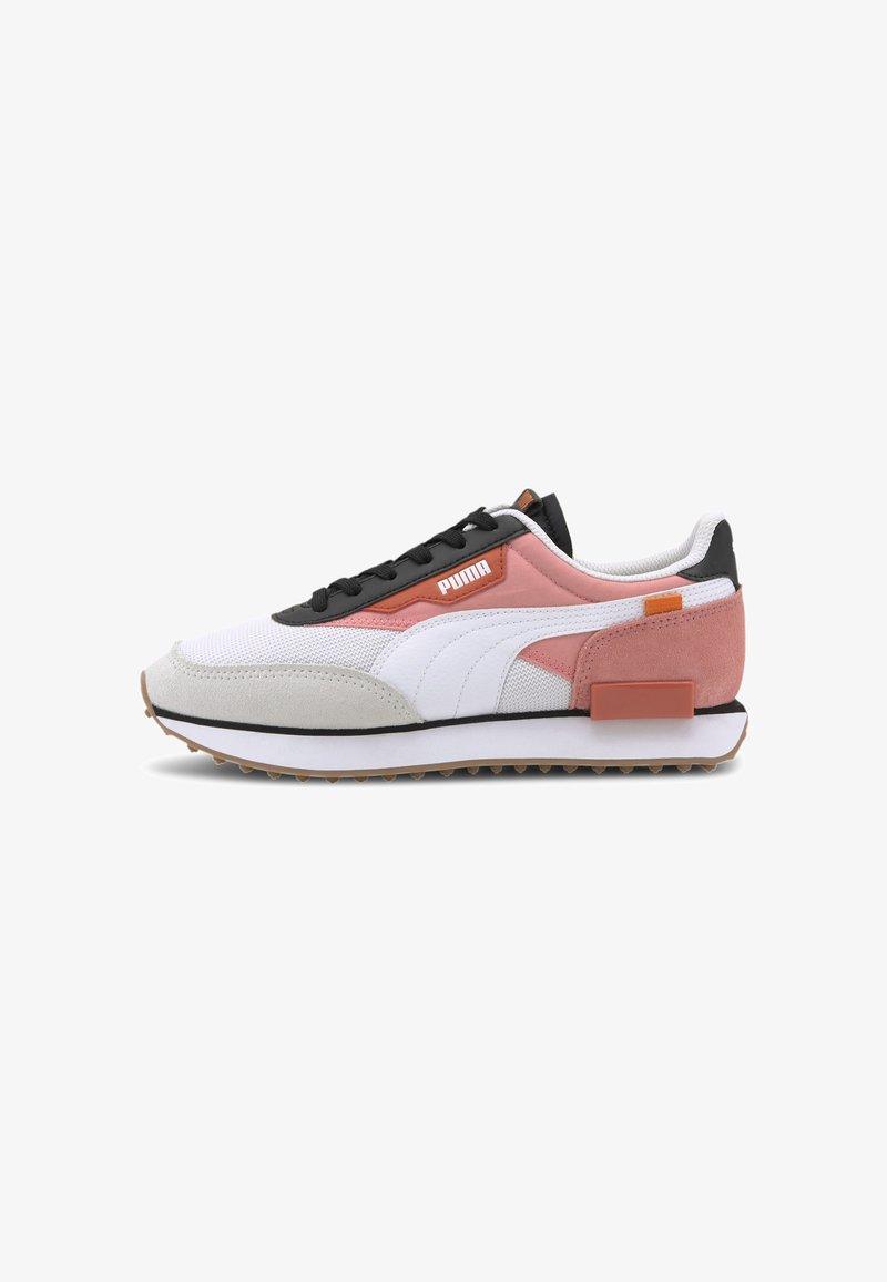 Puma - FUTURE RIDER NEW TONES UNISEX - Trainers - puma white-salmon rose