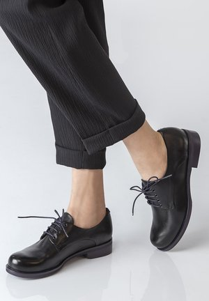 DERBIES - Casual lace-ups - black