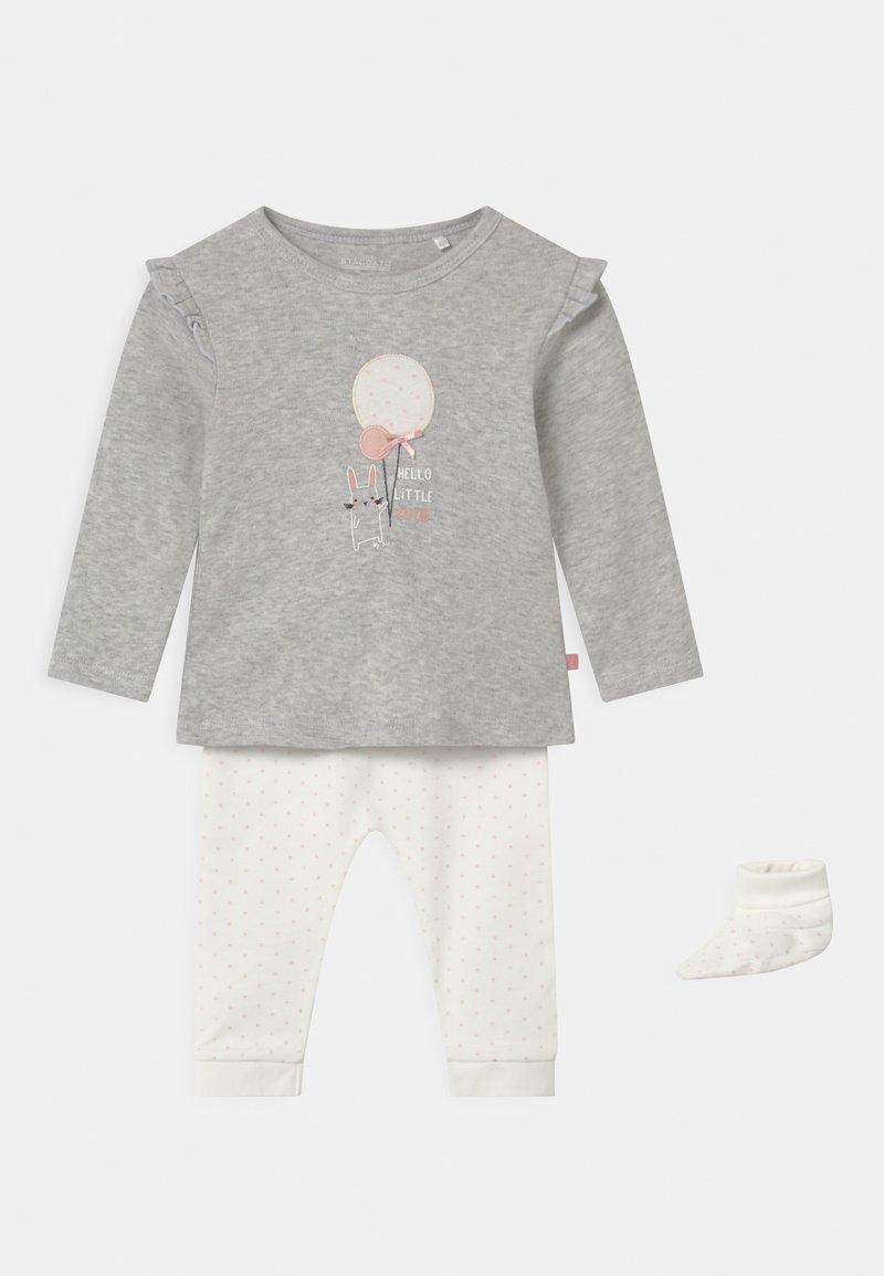 Staccato - SET - Legging - grey/white