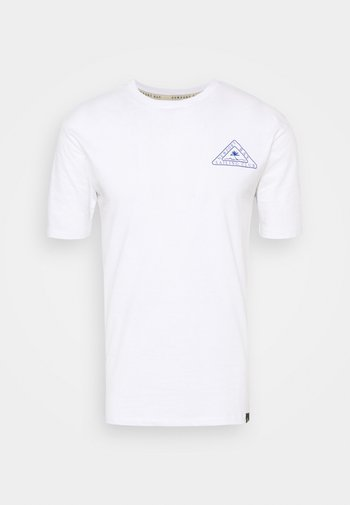PALM - Triko spotiskem - white