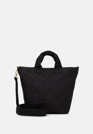 SHOPPER QUILTED - Tote bag - black