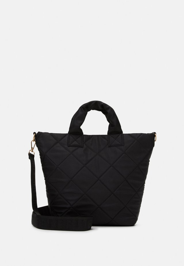 SHOPPER QUILTED - Shopping bag - black