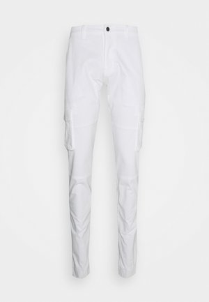 PANT - Cargo trousers - white