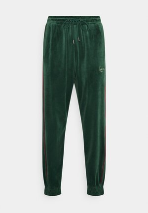 UNISEX - Tracksuit bottoms - darkgreen