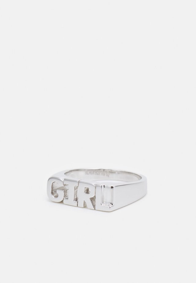 GIRL - Anello - silver-coloured