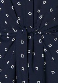 Lauren Ralph Lauren Petite - KAHWELL LONG SLEEVE CASUAL DRESS - Shirt dress - french navy/pale cream - 2