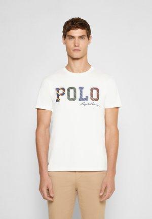 SHORT SLEEVE - Print T-shirt - deckwash white