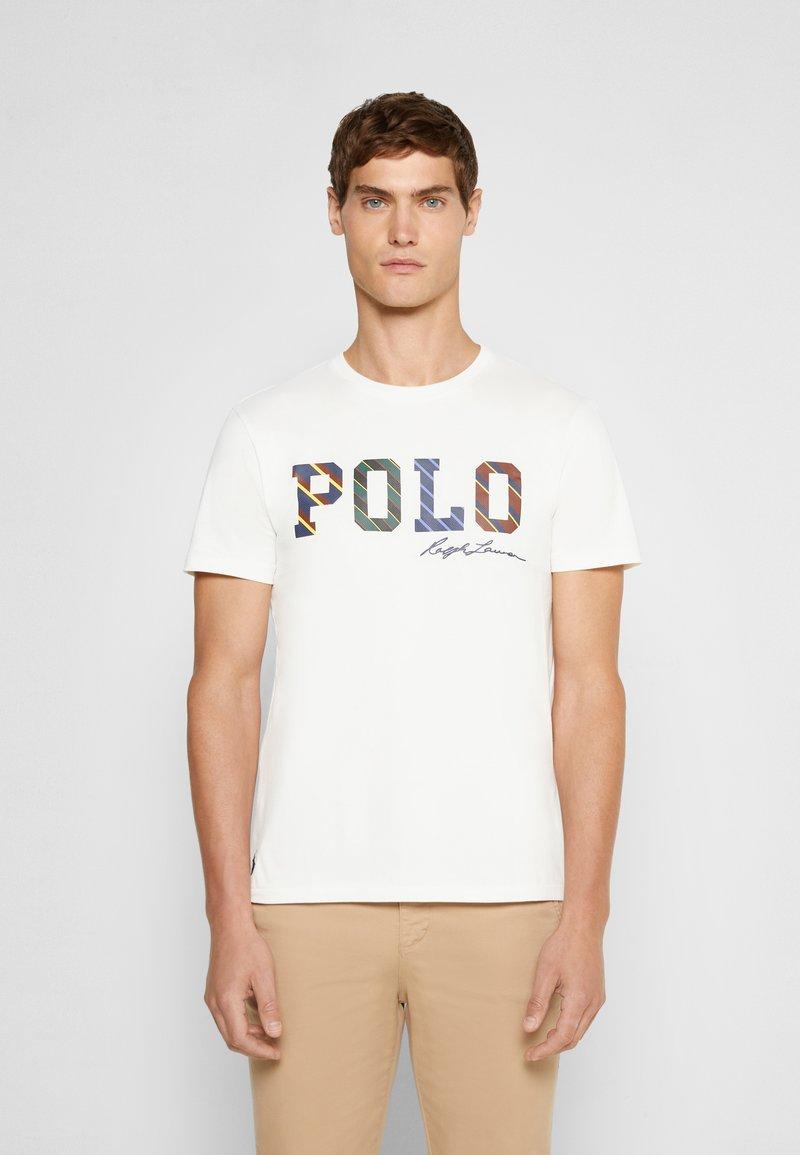 Polo Ralph Lauren - SHORT SLEEVE - Print T-shirt - deckwash white