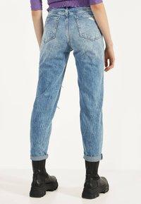 Bershka - Jeans Straight Leg - blue denim - 2