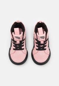 Vans - SK8 ZIP MTE-1 - High-top trainers - powder pink/black - 3