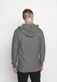 G-Star - TONAL JIRGI HOOD  - Zip-up hoodie - honeycomb jersey io - gs grey - 2