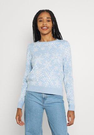 JDYMIKA - Neule - cashmere blue
