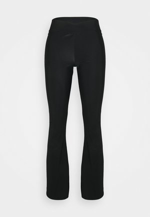 FLARED PANT - Tracksuit bottoms - black