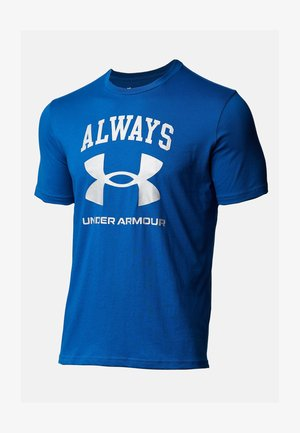 UA ALWAYS  - Print T-shirt - graphite blue