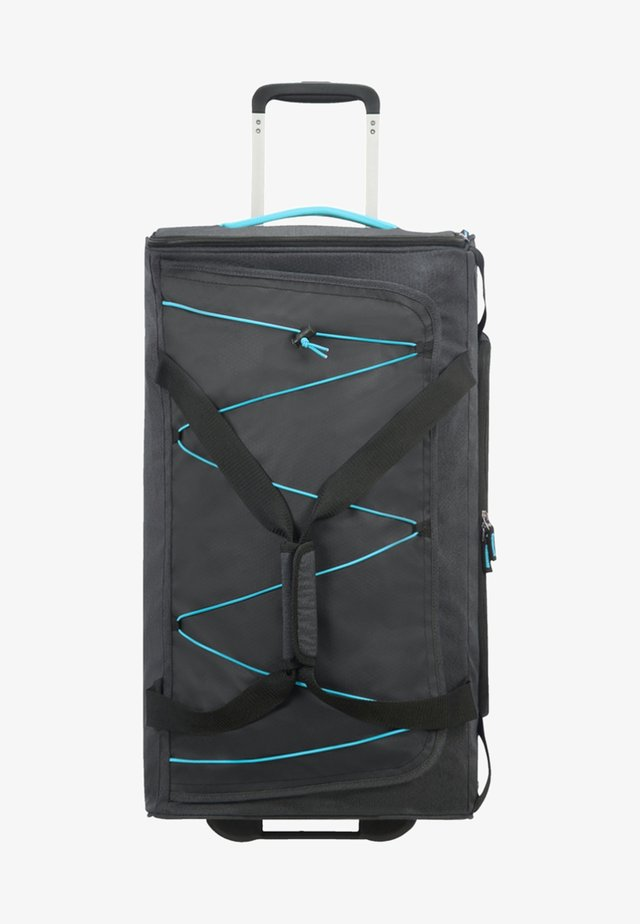 ROAD QUEST MIT ROLLEN - Wheeled suitcase - graphite/turquoise