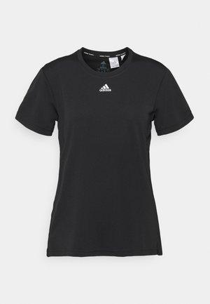 NECESSI TEE - Print T-shirt - black/white