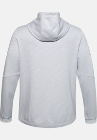 Under Armour - DOUBLE KNIT FZ HOODIE - Zip-up hoodie - halo gray - 1