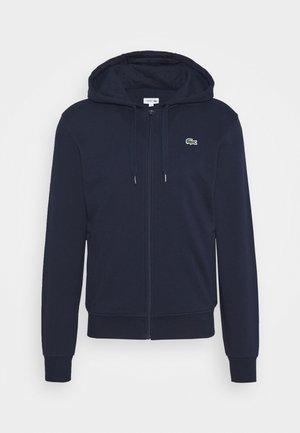 CLASSIC HOODIE JACKET - Zip-up hoodie - navy blue