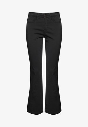DRLOUNTAIN  - Bootcut jeans - black