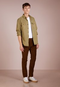 J.CREW - Tygbyxor - warm brown - 1