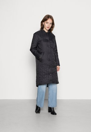 VMGIGI LONG PADDED JACKET - Classic coat - black