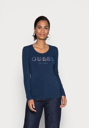 IZAGA TEE - Long sleeved top - secret blue