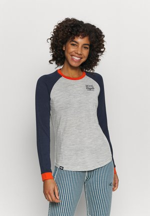 THE GO TO RAGLAN - Sports shirt - navy/grey