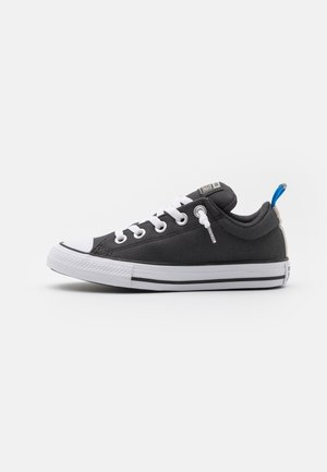 CHUCK TAYLOR ALL STAR STREET SEASONAL UNISEX - Baskets basses - black/string/digital blue