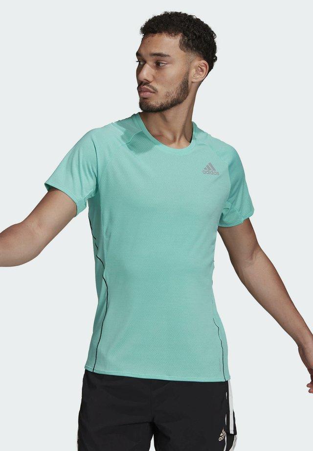 RUNNER  - Print T-shirt - green