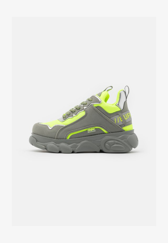 CHAI - Sneakers - neon yellow/grey
