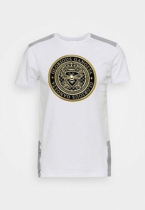IRVAS TEE - T-shirt med print - optic white
