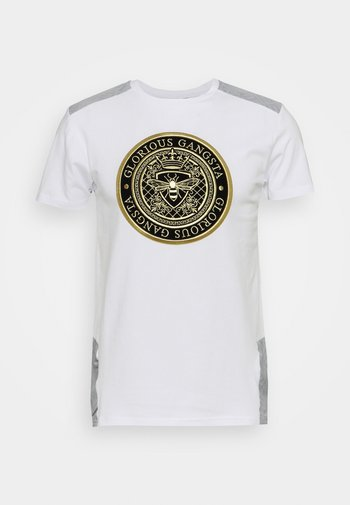IRVAS TEE - T-shirt con stampa - optic white