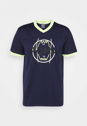 PARQUET VINTAGE - T-shirt print - peacoat
