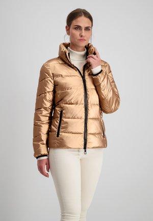 Winter jacket - kupfer