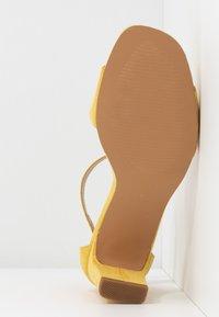 Anna Field - Sandaalit nilkkaremmillä - yellow - 6