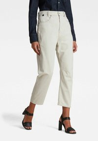G-Star - C-STAQ 3D BOYFRIEND CROPPED - Relaxed fit jeans - ecru - 0