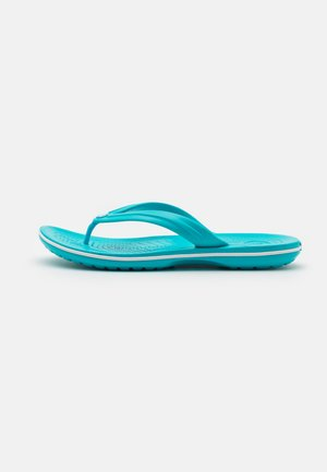 CROCBAND FLIP UNISEX - Pool shoes - digital aqua