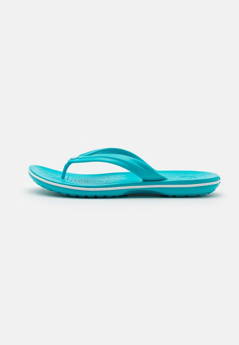 Crocs - CROCBAND FLIP UNISEX - Pool shoes - digital aqua