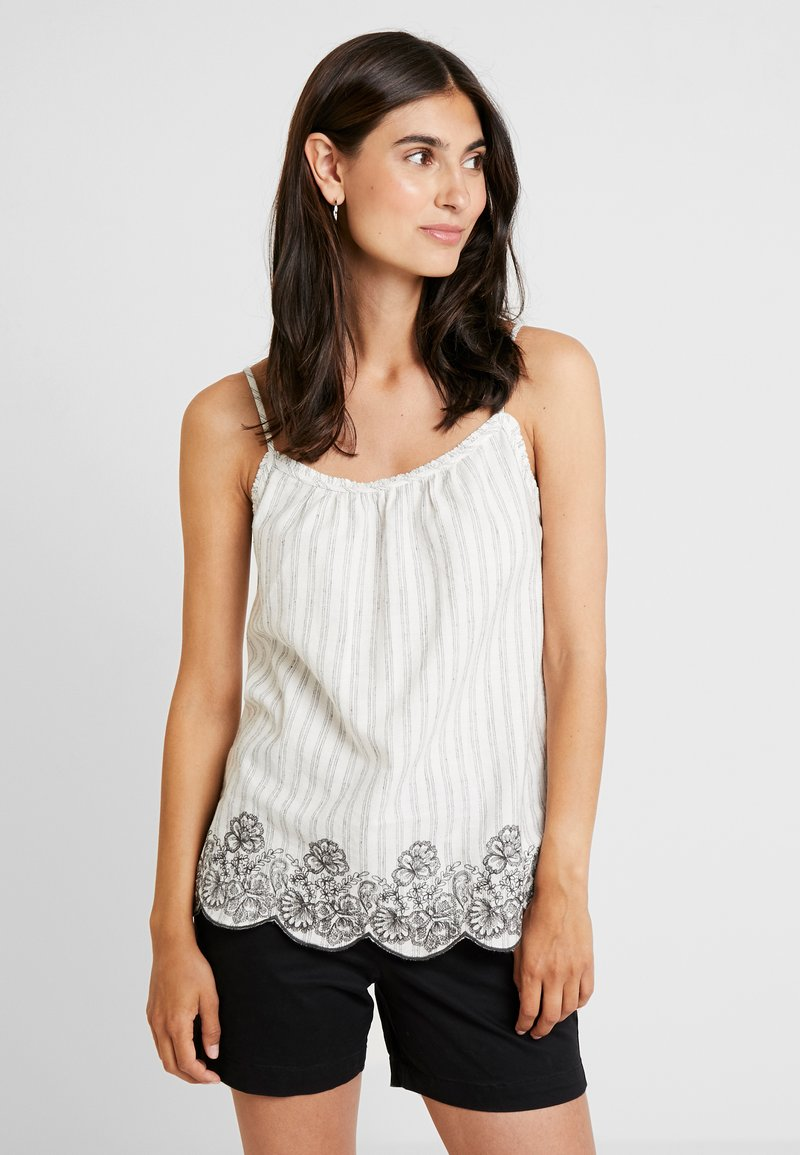 Esprit - STRIPE - Top - off white