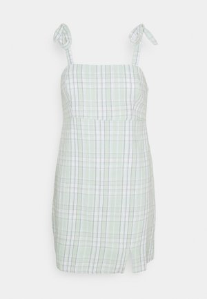 SUMMER BARE STRUCTURED - Vestido informal - mint